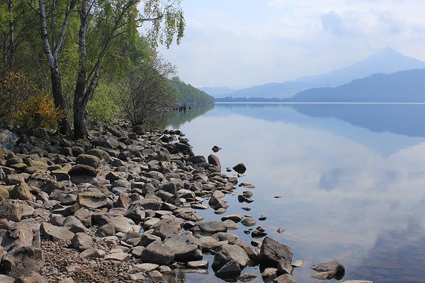 Loch Rannoch on a beautiful still morning in May, 2012.